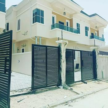 Tactfully and Exotically Finished 4 Bedroom Duplex with Bq. Each Duplex with Its Fence, Gate and Security House, Chevron Alternative Drive, Lekki Lagos. 3 Minutes From Chevron Junction., Lekki, Lagos, Detached Duplex for Sale