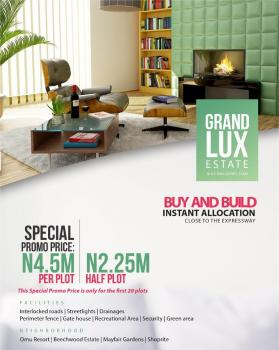 Grand Lux Estate. 100% Dry Land with Perfect Title, Sapati, Close Proximity to Lekki Hotel and Suites, Lakowe Lake and Resorts, Ajah, Lagos, Mixed-use Land for Sale