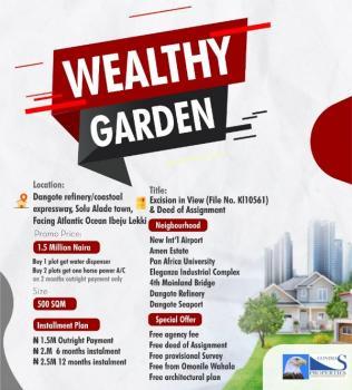 Wealthy Garden, Orimedu, Ibeju Lekki, Lagos, Mixed-use Land for Sale