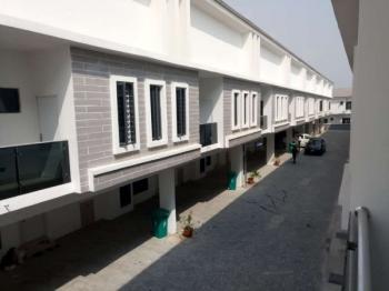 Luxury 4 Bedroom Terrace with 24/7 Power, Victoria Crest Estate, Lafiaji, Lekki, Lagos, Terraced Duplex for Rent