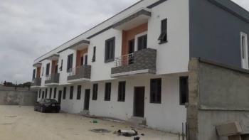 3 Bedroom Terrace Duplex with Bq, Close to Chevron Road, Chevy View Estate, Lekki, Lagos, Terraced Duplex for Sale