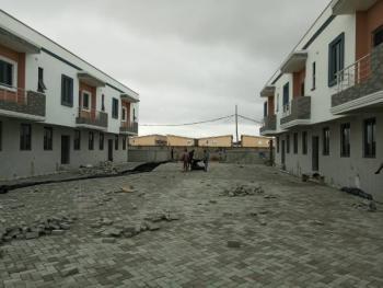 Lovely 3 Bedroom Terrace Duplexes with a Room Bq, Lafiaji, Lekki, Lagos, Terraced Duplex for Sale