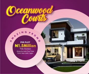 Estate Land, Ten Minutes Before Dangote Refinery Coaster Road, Eleko, Ibeju Lekki, Lagos, Residential Land for Sale