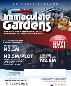 Estate Land, Behind Unizik, Awka, Anambra, Residential Land for Sale