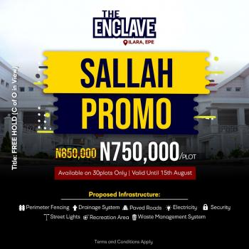 The Enclave Sallah Promo, Epe, Lagos, Mixed-use Land for Sale