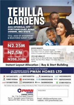Estate Land, Avu Oforola, New Owerri, Owerri, Imo, Residential Land for Sale