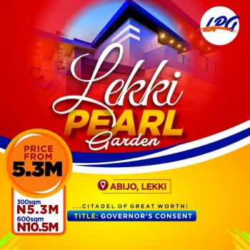 Buy and Build Land with Perfect Title, Directly Beside Amity Estate, Abijo, Lekki, Lagos, Residential Land for Sale