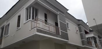 a New Beautifully Finished Luxury 4 Bedroom Semi Detached Duplex + a Bq, Romax Mini Estate, Chevron Alternative Road, Lekki Expressway, Lekki, Lagos, Semi-detached Duplex for Sale