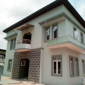 a Tasteful 4 Bedroom Duplex with Bq, Dideolu Estate Ogba Ikeja, Ogba, Ikeja, Lagos, Detached Duplex for Sale