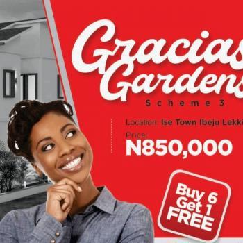 Gracial Garden Scheme 3, Dangote Refinery Road, Folu Ise, Ibeju Lekki, Lagos, Residential Land for Sale