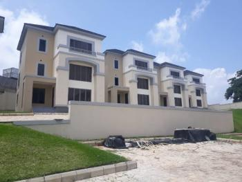 4 Bedrooms Detached Duplex with a Room Servant Quarters Serviced with Central Generator Set, Swimming Pool, Asokoro District, Abuja, Detached Duplex for Rent