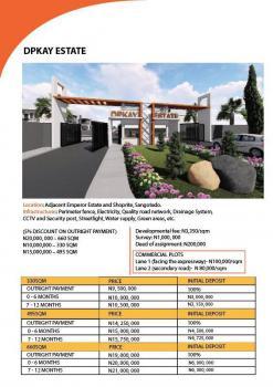 Dpkay Estate, Behind Shoprite Sangotedo Facing D Expressway, Ajah, Lagos, Land for Sale