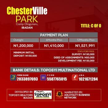 Estate Land, Chesterville Park Estate, Camp Ologuneru, Ibadan, Oyo, Mixed-use Land for Sale