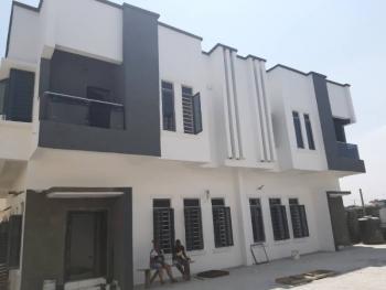 Lovely 4 Bedroom Semi Detached in a Mini Estate, Lafiaji, Lekki, Lagos, Semi-detached Duplex for Sale
