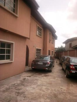 Lovely Upstairs 3 Bedroom Flat in a Gated Street, Fagba, Agege, Lagos, Flat for Rent