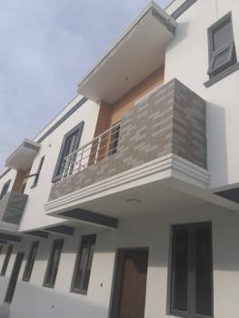 Newly Built 3 Bedrooms Terrace Duplex House with Bq, Chevron Drive, Chevy View Estate, Lekki, Lagos, Terraced Duplex for Sale