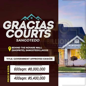 Gracias Courts, Behind The Biggest Mall (shoprite), Off Monastery Road, Sangotedo, Ajah, Lagos, Commercial Land for Sale