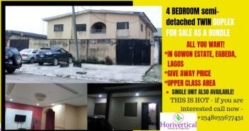 4-bedroom Semi Detached Duplex, 21 Road, Near Rccg Cathedra, Gowon Estate, Egbeda, Alimosho, Lagos, Semi-detached Duplex for Sale