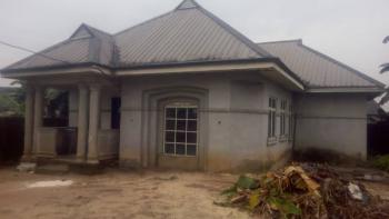 Luxury Three Bedroom Apartment with Borehole, Rumuosunwo, Near Eliozu Fly Over, Eliozu, Port Harcourt, Rivers, Detached Bungalow for Sale