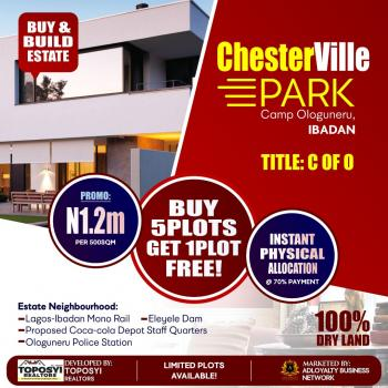 Chesterville Park, 2 Minutes Drive Away From The New Mono-rail Project, Eleyele, Ibadan, Oyo, Residential Land for Sale