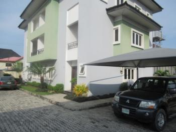 4 Bedroom Serviced Town House with a Room Bq, Osapa, Lekki, Lagos, Terraced Duplex for Rent