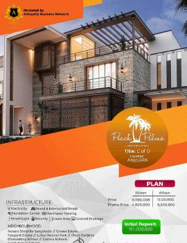 Peach Palms, Behind Novare Shoprite Sangotedo and 10 Minutes Drive From Corona School, Abijo, Lekki, Lagos, Residential Land for Sale