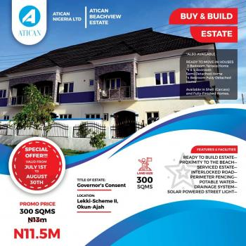 100%  Dry Land with C of O Inside a Residential Estate @atican Beach View Estate, Okun Ajah, Off Abraham Adesanya Road Lekki Scheme 2*, Abraham Adesanya Estate, Ajah, Lagos, Residential Land for Sale