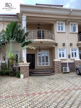 Serviced 4 Bedroom Semi Detached Duplex with Bq, Jabi, Abuja, Semi-detached Duplex for Rent