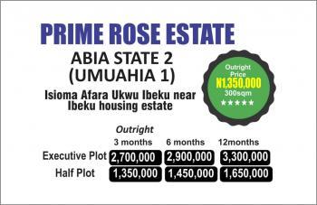 Land, Afaraukwu Ibeku, Umuahia, Abia, Residential Land for Sale