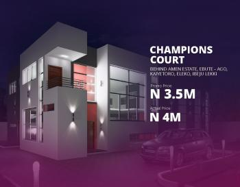 Plot of Estate Land 600 Sqm - Champions Court, Eleko, Ibeju Lekki, Lagos, Residential Land for Sale