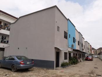 Two (2)  Bedroom Terraced Duplex with a Studio Kitchen, Eagle Court Estate, Lafiaji, Lekki, Lagos, Terraced Duplex for Rent