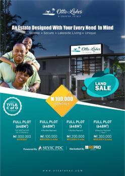 Residential Land with C of O at Otta Lakes & Country Estate, Atan Ota, Ado-odo/ota, Ogun, Residential Land for Sale