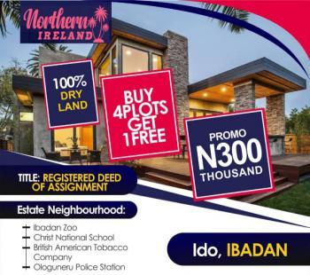 Unbeatable 100%dry & a Full Plot of Land, Ido, Ibadan., Ido, Oyo, Mixed-use Land for Sale