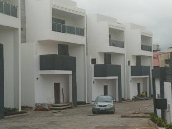 Newly Built 6 Units of 4 Bedroom Duplexes with Bq, Wuse 2, Abuja, Terraced Duplex for Sale