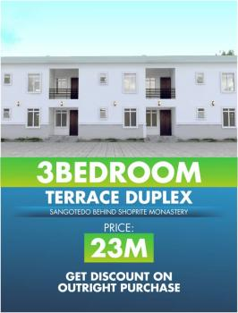 Luxury 3 Bedroom Apartment, Behind Shoprite Novare Mall, Abraham Adesanya Estate, Ajah, Lagos, Detached Duplex for Sale
