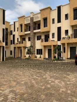 4 Bedroom Terrace with a Bq, Jabi, Abuja, Terraced Duplex for Rent