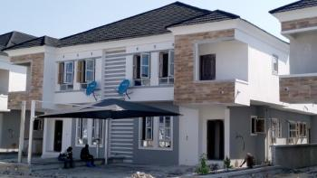 Contemporary 4 Bedroom Home with 24-hour Power Supply in an Estate, Around Orchid Rd, Lafiaji, Lekki, Lagos, Semi-detached Duplex for Sale