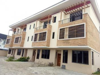 Lovely Newly Built 4 Bedroom Terrace Building with Swimming Pool &gym, Ikate Elegushi, Lekki, Lagos, Terraced Duplex for Sale