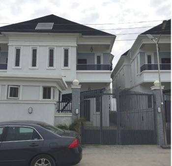 Newly Built 4 Bedroom Semi Detached House with Bq, Orchid Road, Lafiaji, Lekki, Lagos, Semi-detached Duplex for Sale