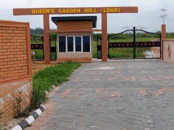 Plots of Land, Queens Garden Estate, 10 Mins Away From Amen Estate, Off Coastal Road Linked Vi, Eleko, Ibeju Lekki, Lagos, Residential Land for Sale