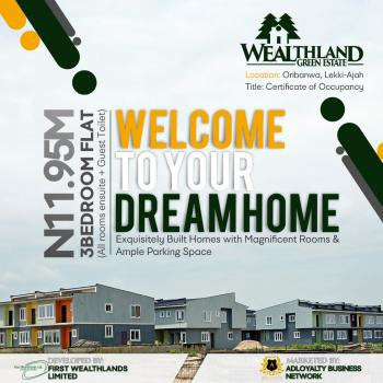 Luxury 3 Bedroom Flat, Oribanwa, Ibeju Lekki, Lagos, Block of Flats for Sale