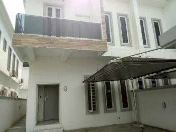Serviced 4 Bedroom Semi Detached Duplex with a Room Bq, Orchid Road, Second Toll Gate, Chevron, Lekki Phase 2, Lekki, Lagos, Detached Duplex for Sale