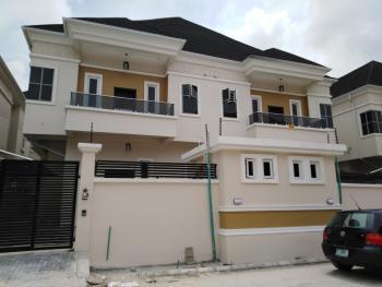 Newly Built 4 Bedroom Semi Detached Duplex with Bq, Chevron Drive, Alternative Route, Chevy View Estate, Lekki, Lagos, Semi-detached Duplex for Sale