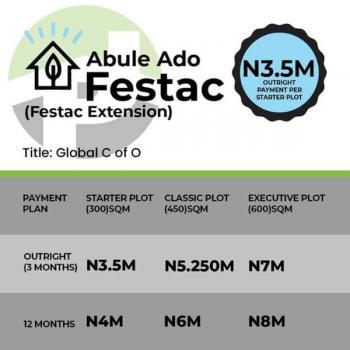Land, Satellite Town, Ojo, Lagos, Residential Land for Sale