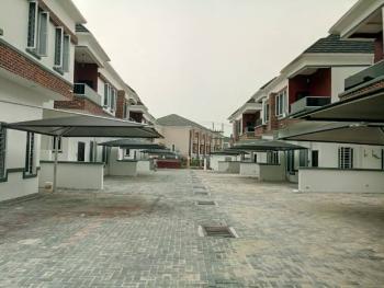 Newly Built 4 Bedroom Semi Detached Duplex with Bq, Osapa, Lekki, Lagos, Semi-detached Duplex for Sale