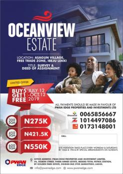 Survey and Deed of Assignment, Asegun, Ibeju Lekki, Lagos, Mixed-use Land for Sale