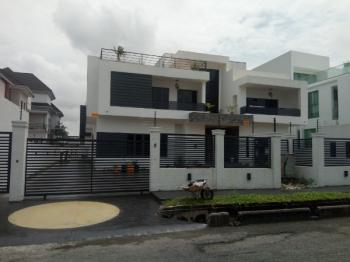 Luxurious 6 Bedroom with 2 Room Bq with Cinema Room, Pinnock Beach Estate, Osapa, Lekki, Lagos, Detached Duplex for Sale