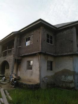 2 Plots of Land with an Uncompleted Building on It, Omobade Street, Off Afolabi Street, Marshi Hill Estate, Ado, Ajah, Lagos, Mixed-use Land for Sale