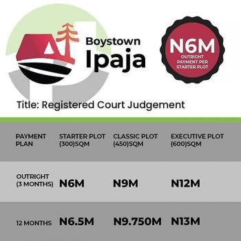 Land, Boys Town -lpaja, Egbeda, Alimosho, Lagos, Mixed-use Land for Sale