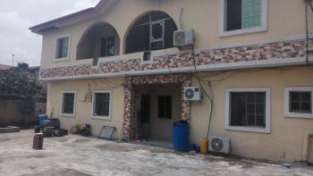 Nice One Room Self-contained Flat with Car Park, By Onike Roundabout, Yaba, Lagos, Self Contained (single Rooms) for Rent
